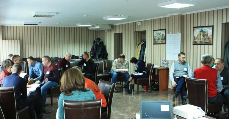 Випускний модуль Школи успішного керівника для управлінської команди компанії ЕНЗИМ