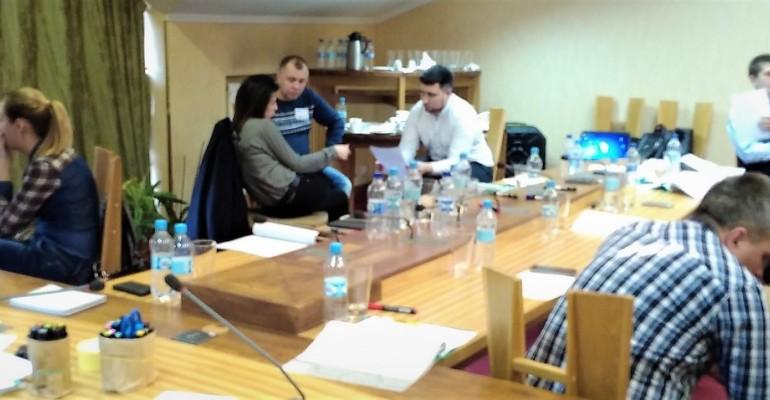 """Тренінг для топ-менеджерів компанії Klingspor Ukraine """"Формування та мотивація команди """""""