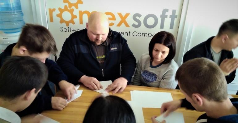 """Тренінг """"Розвиваючий зворотний зв'язок"""" для компанії Romexsoft"""