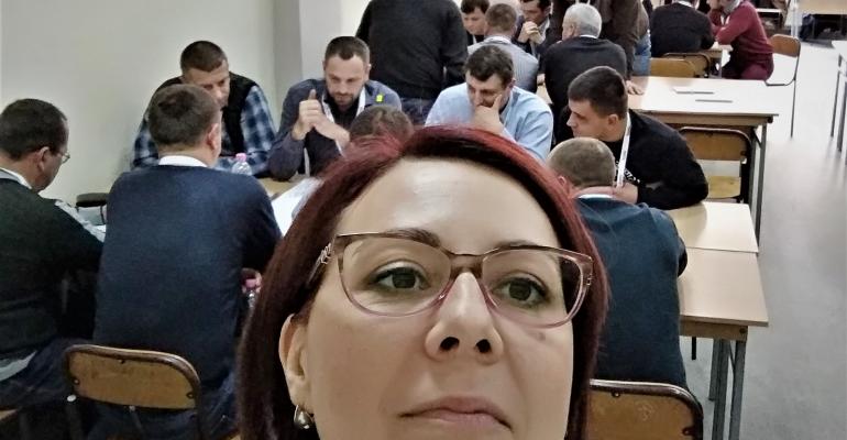 Модерація World Cafee на конференції компанії Укрнафта