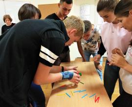 Формування команди для учасників Школи молодого християнського лідера