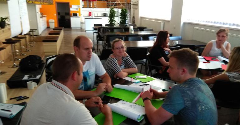 """Тренінг-практикум """"Ефективне управління на щодень"""" для команди топ-менеджерів компанії KEEL Solution"""