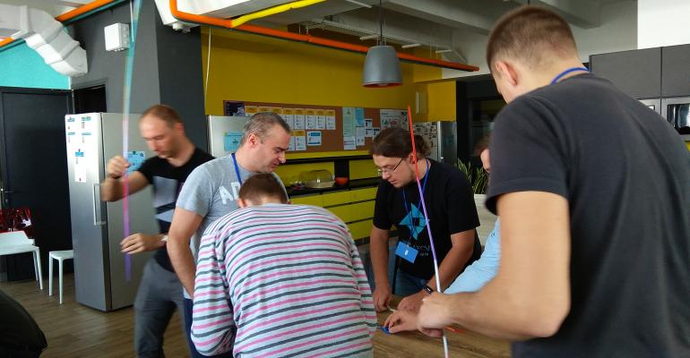 Тімбілдинг для команди системних адміністраторів компанії Data Art