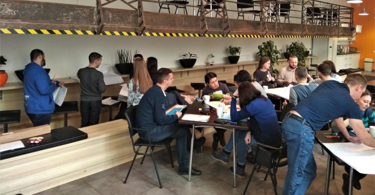 Як спілкуватись ефективно і в задоволення - тренінг для команди KEEL Solitions