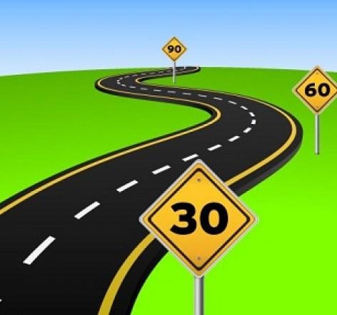 Малими кроками до великих цілей. Реалізуйте 90-денні стратегії