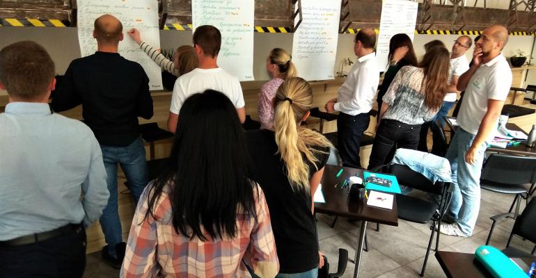 """Воркшоп """"Формування та розвиток високо ефективної команди"""" для менеджерів компанії KEEL Solution"""