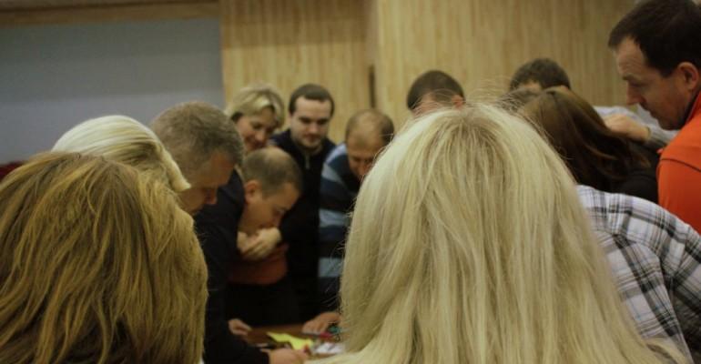 Тренінг управлінського розвитку та командоутворення «Формування команди. Серфінг управління» для компанії «Львівхолод»