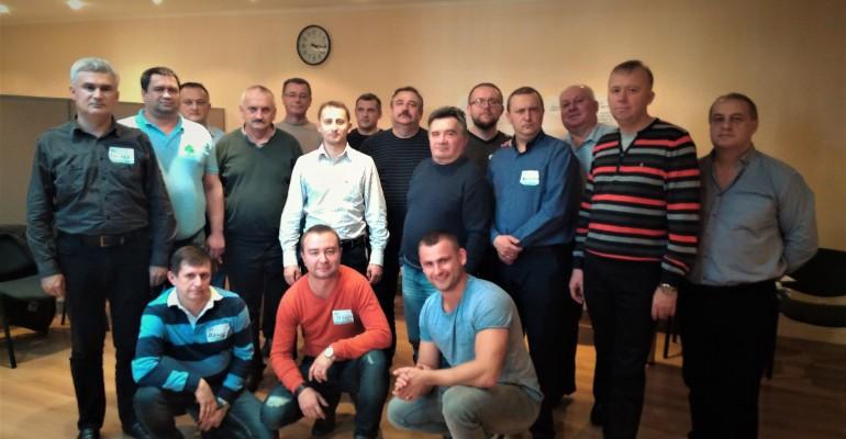 Тішимось продовженню навчань для керівників компанії Укрнафта