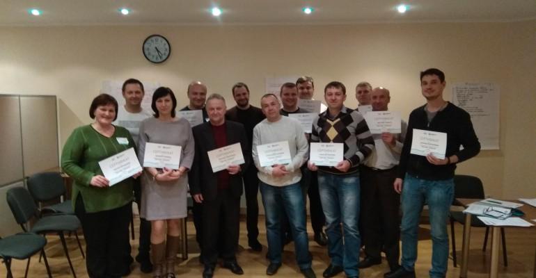 """Нові випускники програми """"Ефективне управління"""" для ПАТ Укрнафта"""
