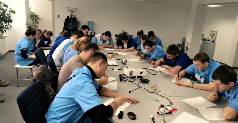 Навчання завершили. Тестування успішно пройшли 50 керівників компанії Фуджікура Аутомотів Україна